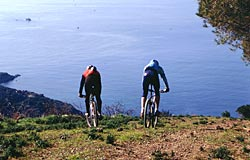 Mountainbike a Lacona